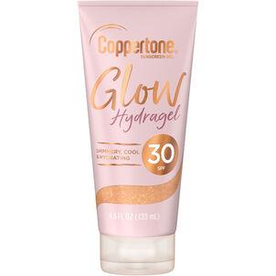 Coppertone Glow Hydragel Sunscreen Lotion, 4.5 oz
