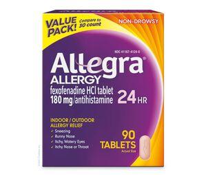 Allegra 24 Hour, 90 ct
