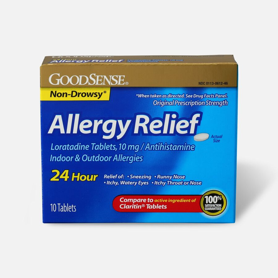GoodSense® Allergy Relief Loratadine Tabs, 10 mg, , large image number 1