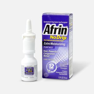 Afrin No Drip 12 Hour Pump Mist, Extra Moisturizing, .5 fl oz