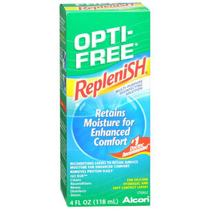 Opti-Free RepleniSH Multi-Purpose Disinfection Solution, 4 fl oz