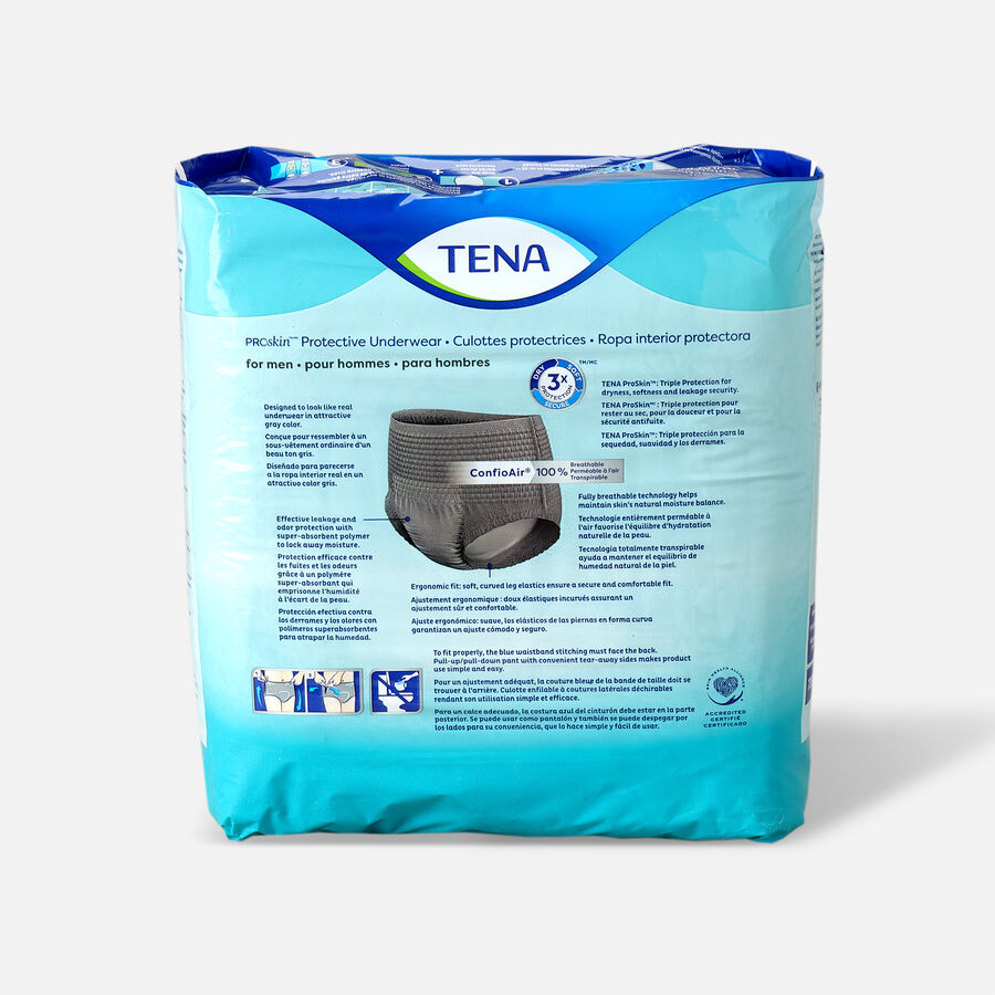 TENA ProSkin™ Protective Incontinence Underwear for Men, Maximum Absorbency, X-Large, 14 Count, , large image number 1