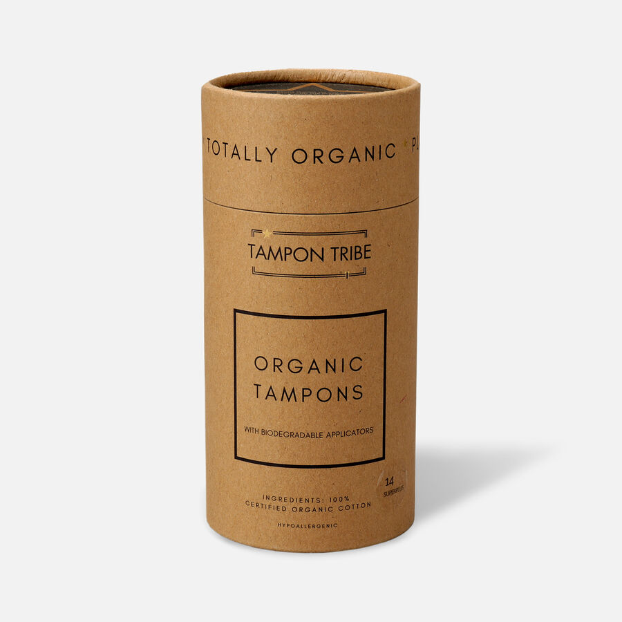 Tampon Tribe Organic Cotton Applicator Tampons, , large image number 6