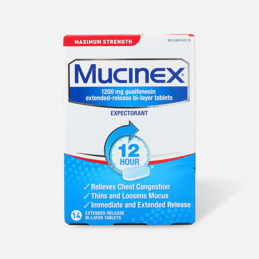 Mucinex SE Max Strength Extended Release Bi-Layer Tablets, 14 ct, , large image number 0
