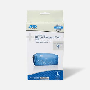 """A&D Replacement Slim Fit Blood Pressure Cuff, 12.2""""-17.7"""""""