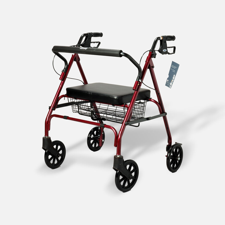 Drive Go-Lite Bariatric Rollator, , large image number 2