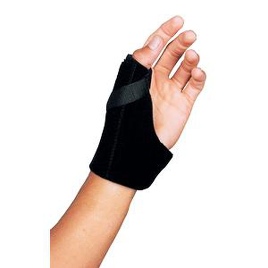 Leader Thumb Spica Support, Black, Small/Medium, , large image number 2
