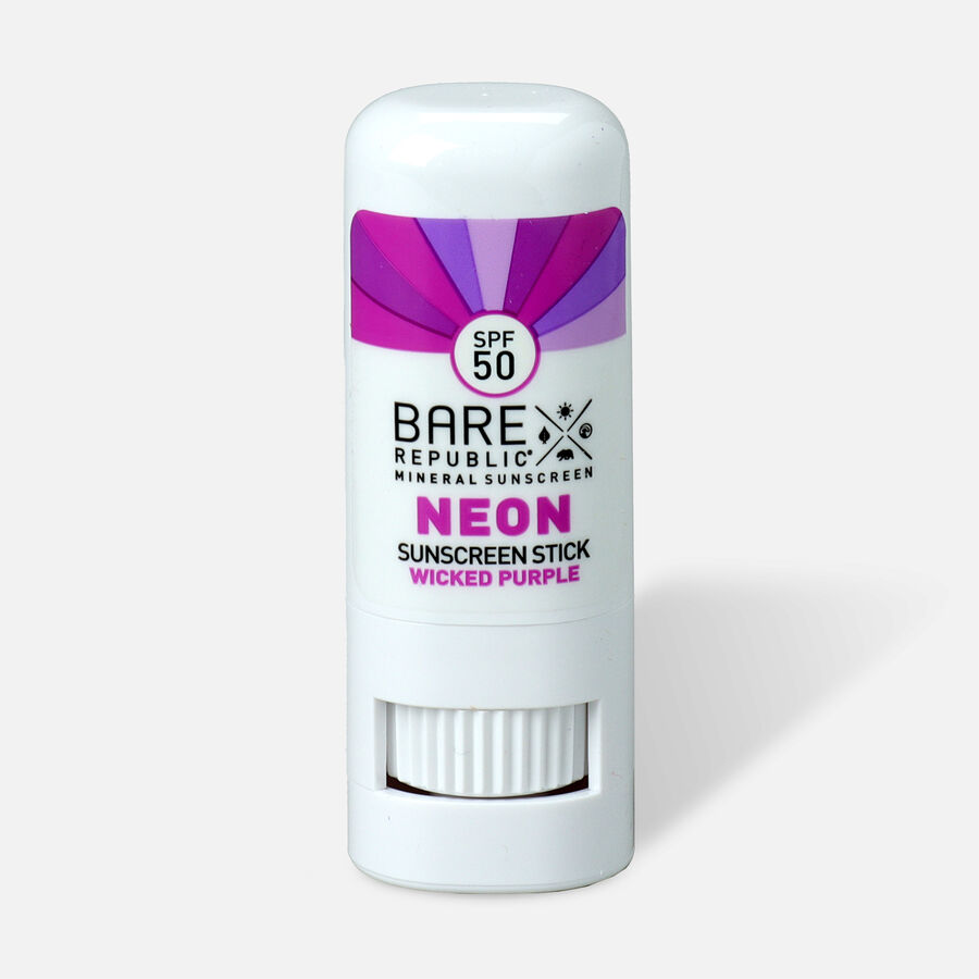 Bare Republic Mineral SPF 50 Neon Sunscreen Stick, , large image number 5