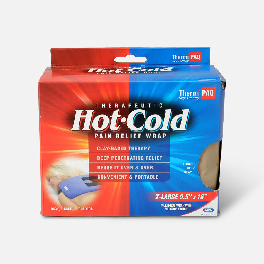 "ThermiPaq Therapeutic Hot & Cold Pad, 9.5"" x 16"" (24 x 40 cm) XLarge, 1 ea, , large image number 0"