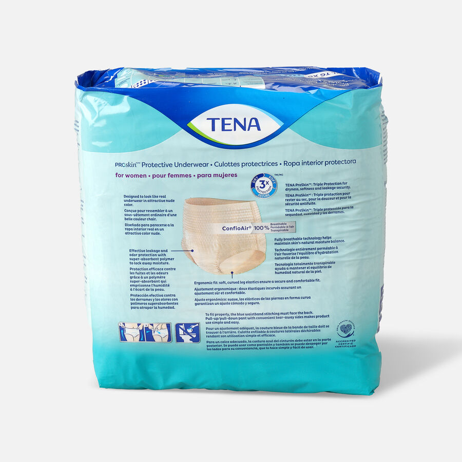 TENA ProSkin™ Protective Incontinence Underwear for Women, Maximum Absorbency, X-Large, 14 Count, , large image number 1