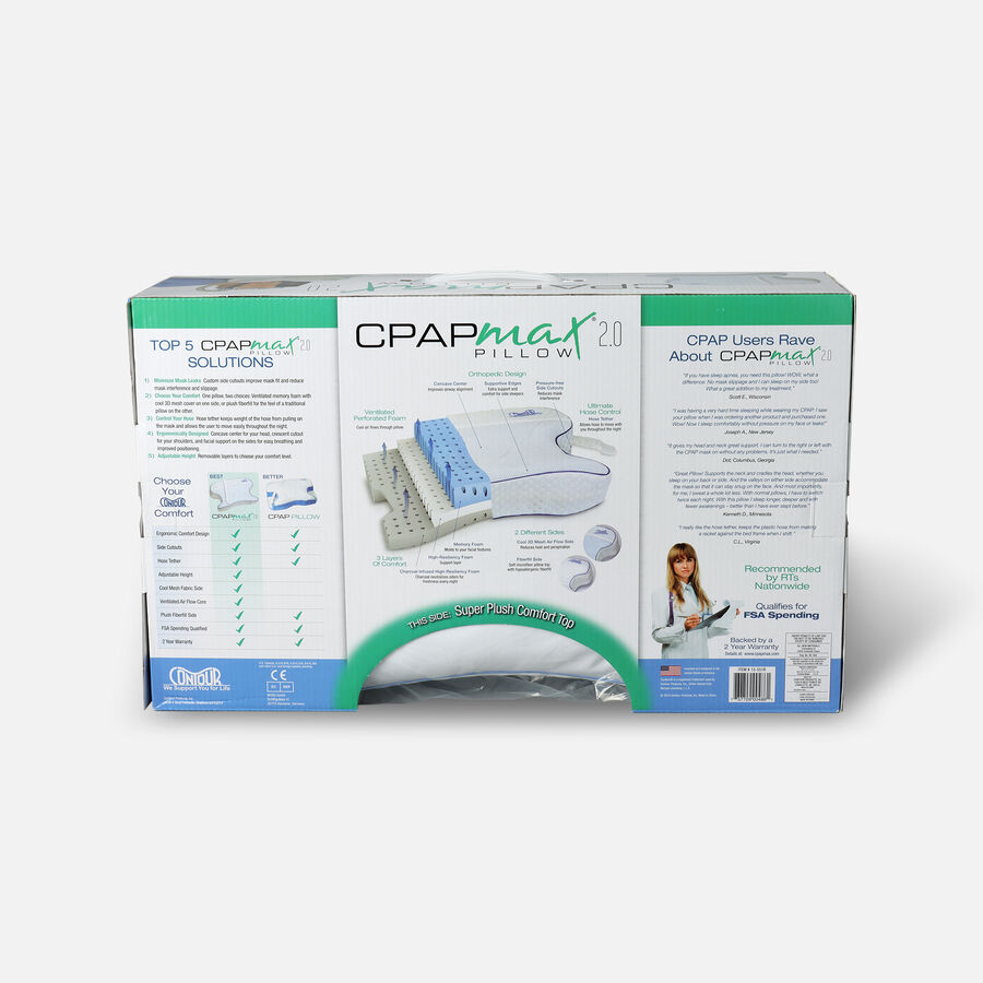Contour CPAP Max Pillow 2.0, , large image number 1
