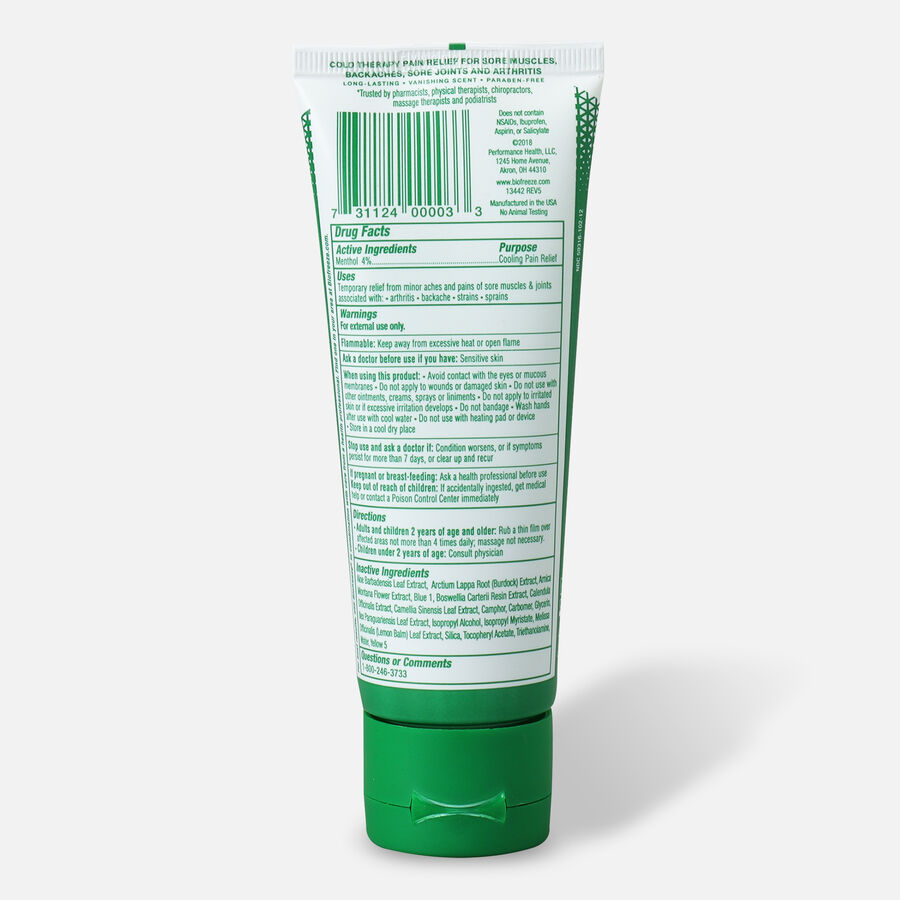Biofreeze Pain Relieving Gel, Green, 3 oz, , large image number 1