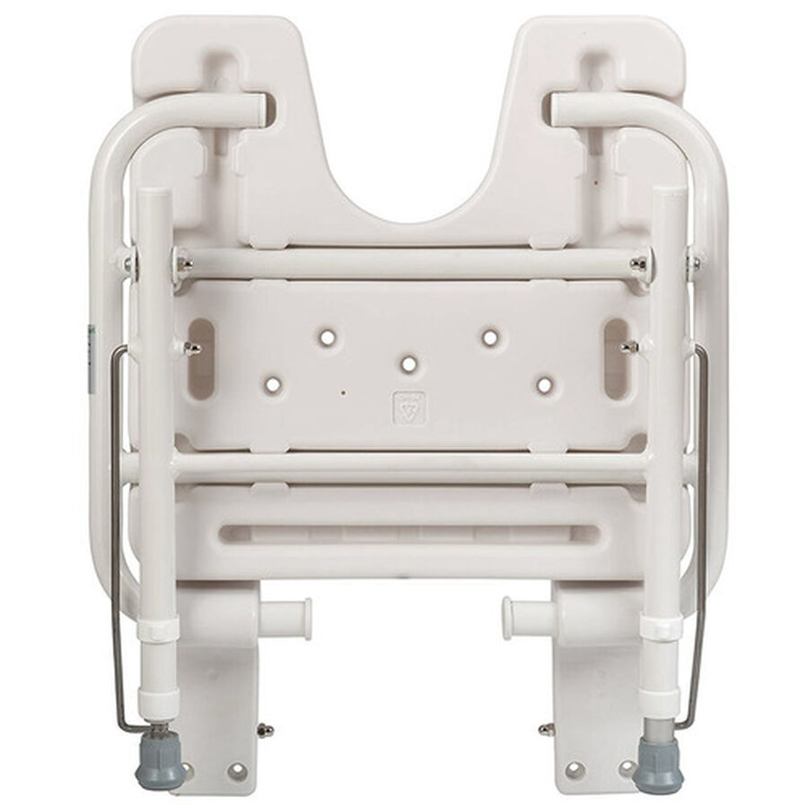 Healthsmart® Wall Mount Fold Away Shower Seat Bench, , large image number 1