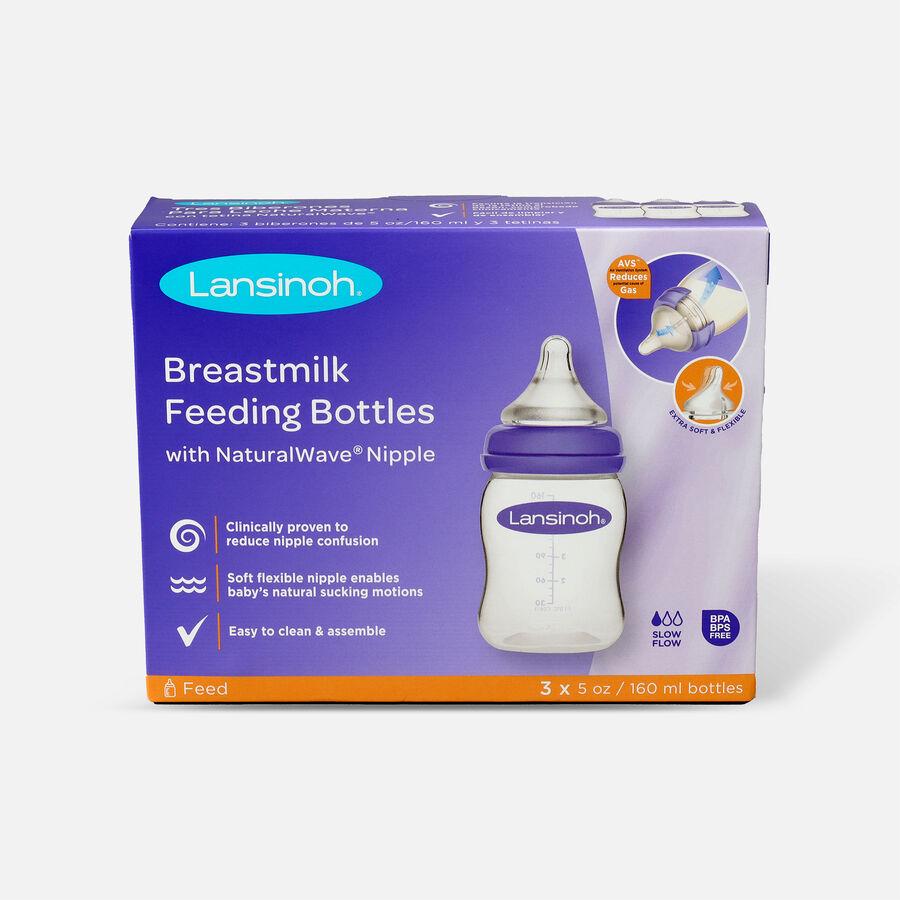 Lansinoh Breastmilk Storage Bottles, 3 Pack, , large image number 0