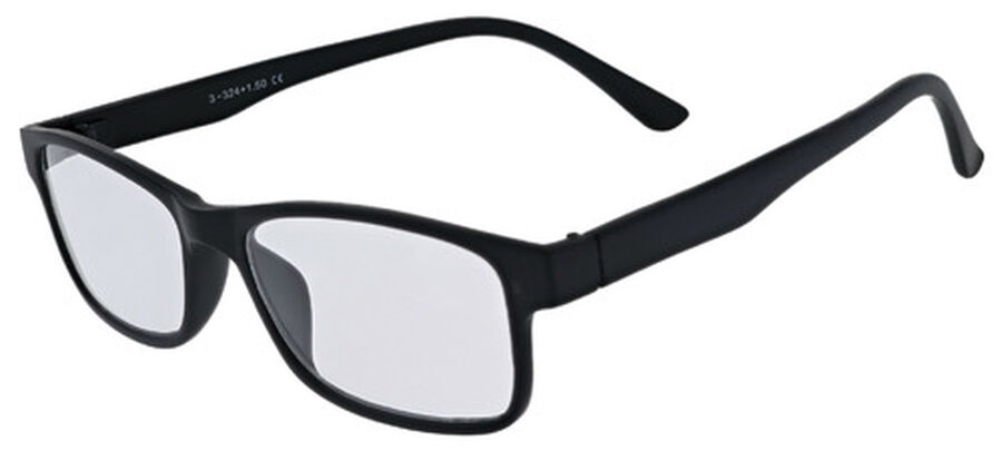 Sunglass Reader with Magnetic Detachable Polarized Lens, +2.50, Black/Smoke, Black/Smoke, large image number 2