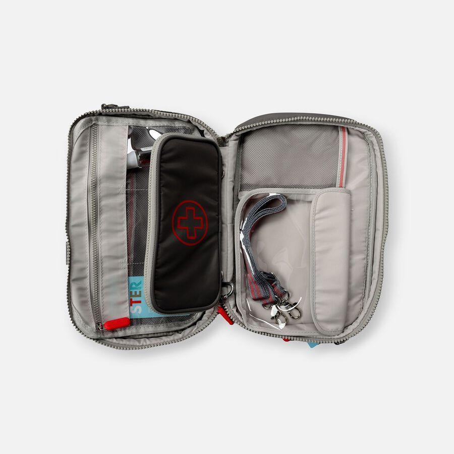 AllerMates Parker 2 in 1 Insulated Large Deluxe Travel Medicine Bag Cases, , large image number 3