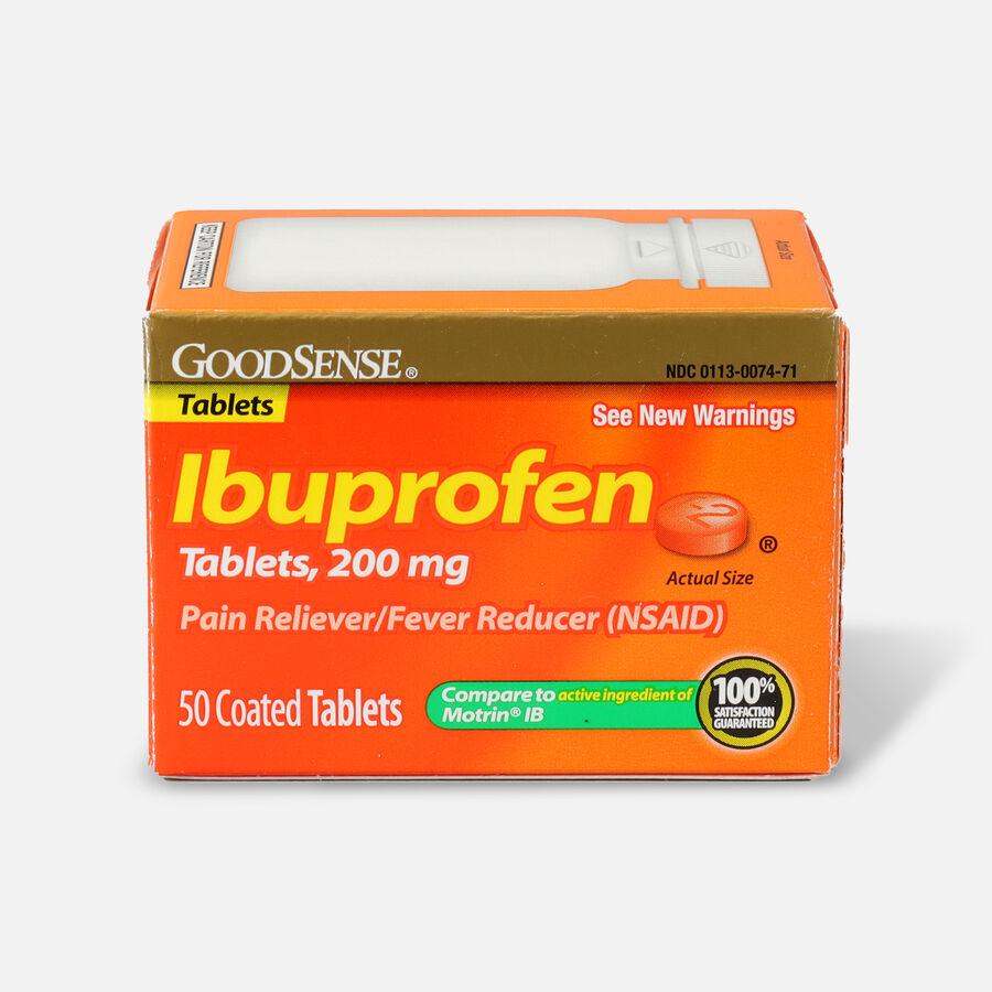 GoodSense® Ibuprofen IB 200 mg Coated Tablets, , large image number 0