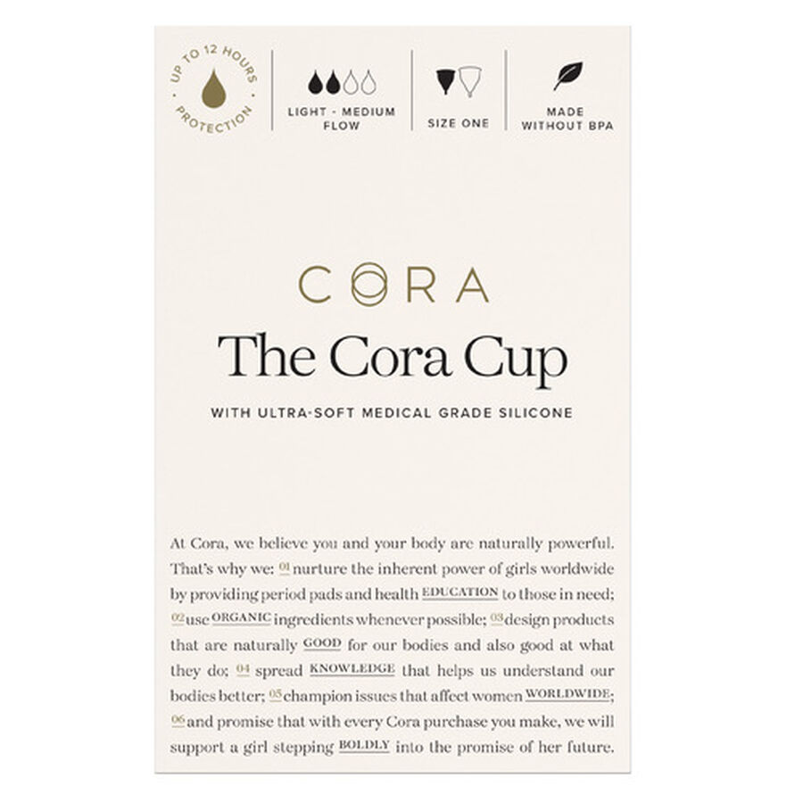 Cora Menstrual Cup, Size 2, , large image number 1