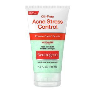 Neutrogena Oil-Free Acne Stress Control Power-Clear Scrub, 4.2 fl oz