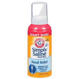 Simply Saline Sterile Saline Nasal Mist, 4.25 fl oz