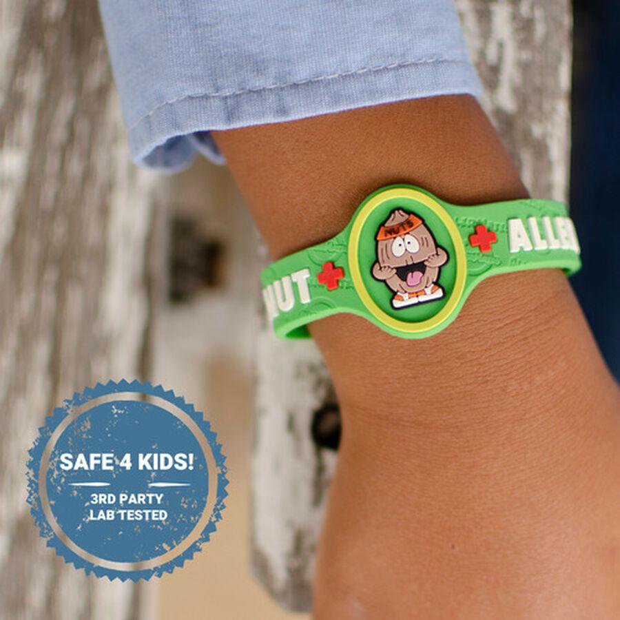 AllerMates Children's Allergy Alert Bracelet - Tree Nut, , large image number 2