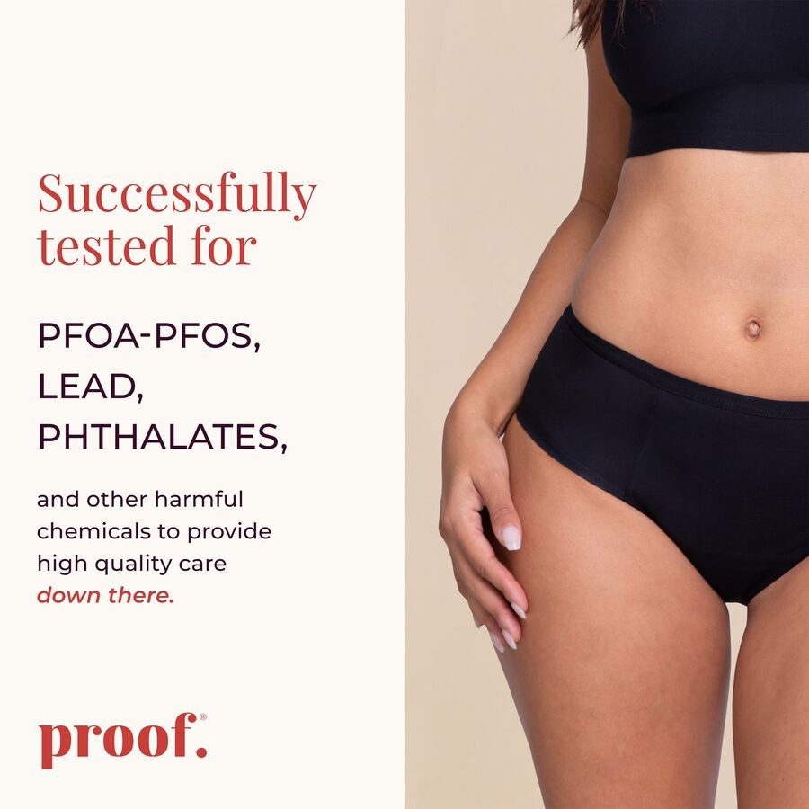Proof® Leak & Period Underwear - Hipster (5 tampons / 10 tsps), , large image number 4