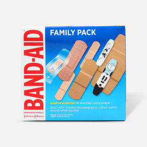 Band-Aid Adhesive Bandages Family Pack, 110ct.
