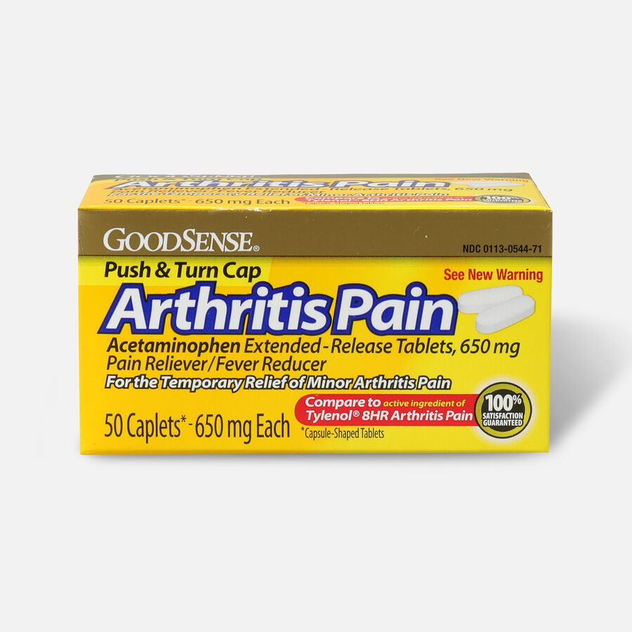 GoodSense® Arthritis Pain Relief 650 mg Extended Release Caplets, , large image number 1