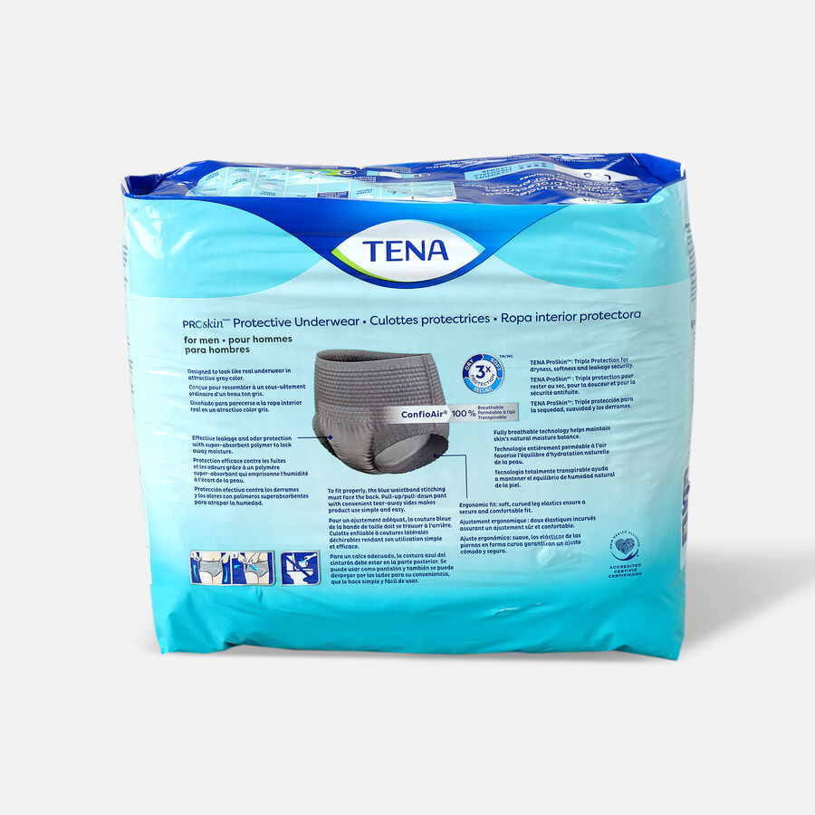 TENA ProSkin™ Protective Incontinence Underwear for Men, Maximum Absorbency, Large, 18 Count, , large image number 1