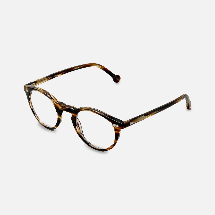 eyeOs Wise Guy Tortoise Premium Reading Glasses, , large image number 6