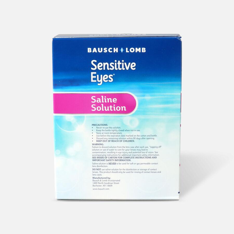 Sensitive Eyes Plus Saline Solution 2 x 12oz, 24 fl oz, , large image number 1
