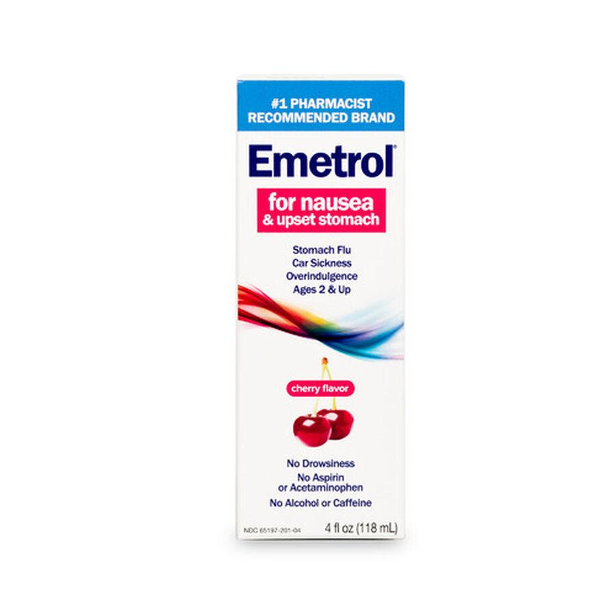 Emetrol Cherry Liquid, 4 fl oz, , large image number 0