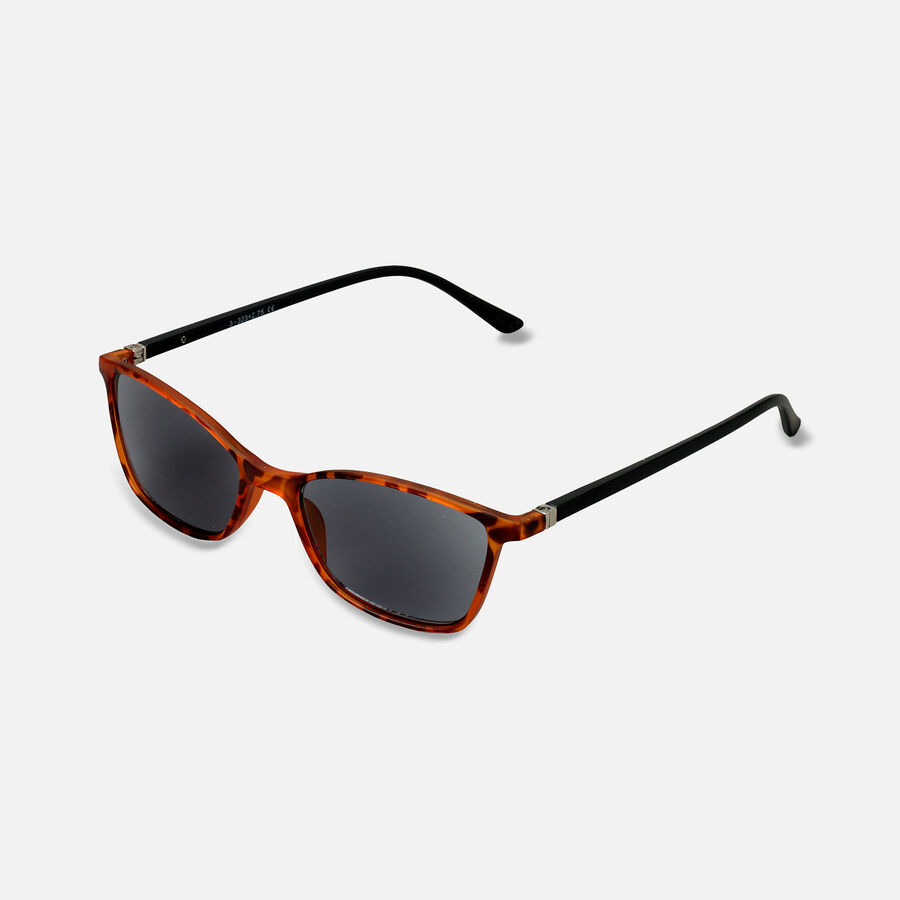 Sunglass Reader with Smoke Tint, Matte Demi, , large image number 3