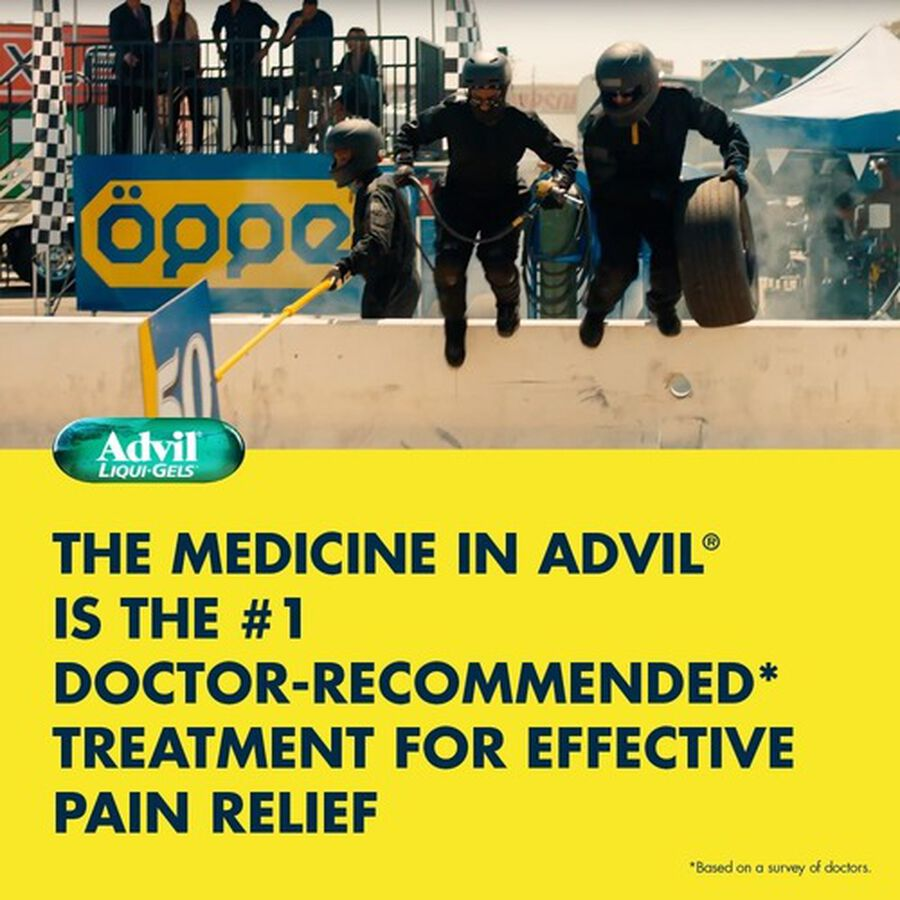 Advil Pain Reliever Fever Reducer Liqui-Gels, 40 ct, , large image number 7