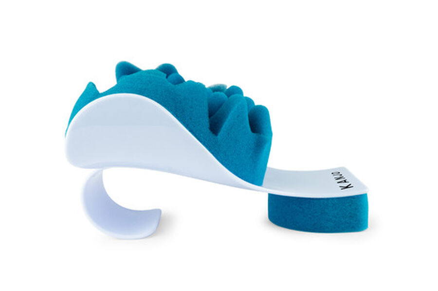 Kanjo Neck Pain Relief Support Cradle, Blue/White, , large image number 1