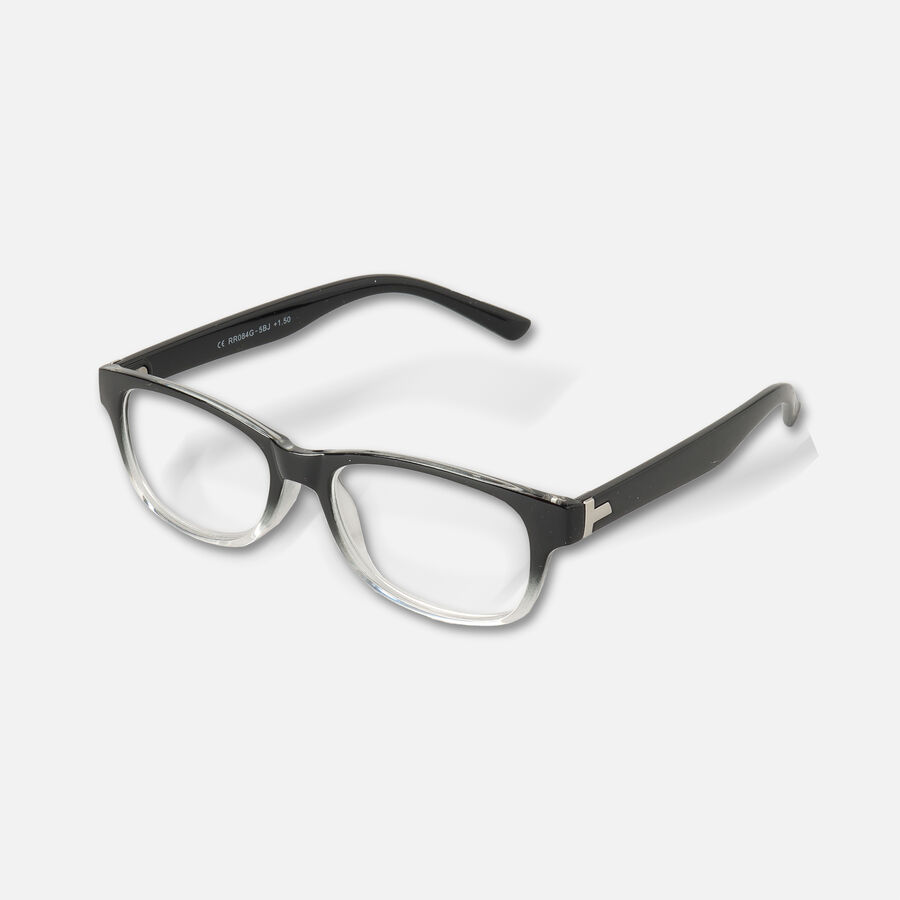 Today's Optical Frame, Black with Transparent Accents, , large image number 3