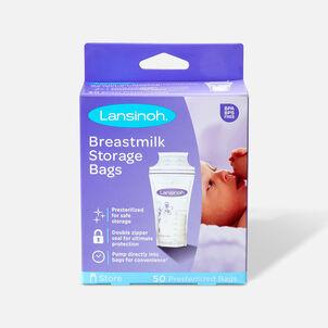 Lansinoh breastmilk storage bags, 50 ea
