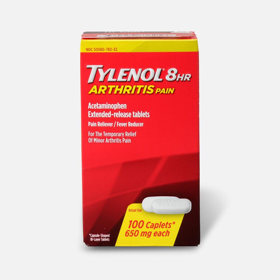 Tylenol 8HR Arthritis Pain Caplet, 100 ct, , large image number 0