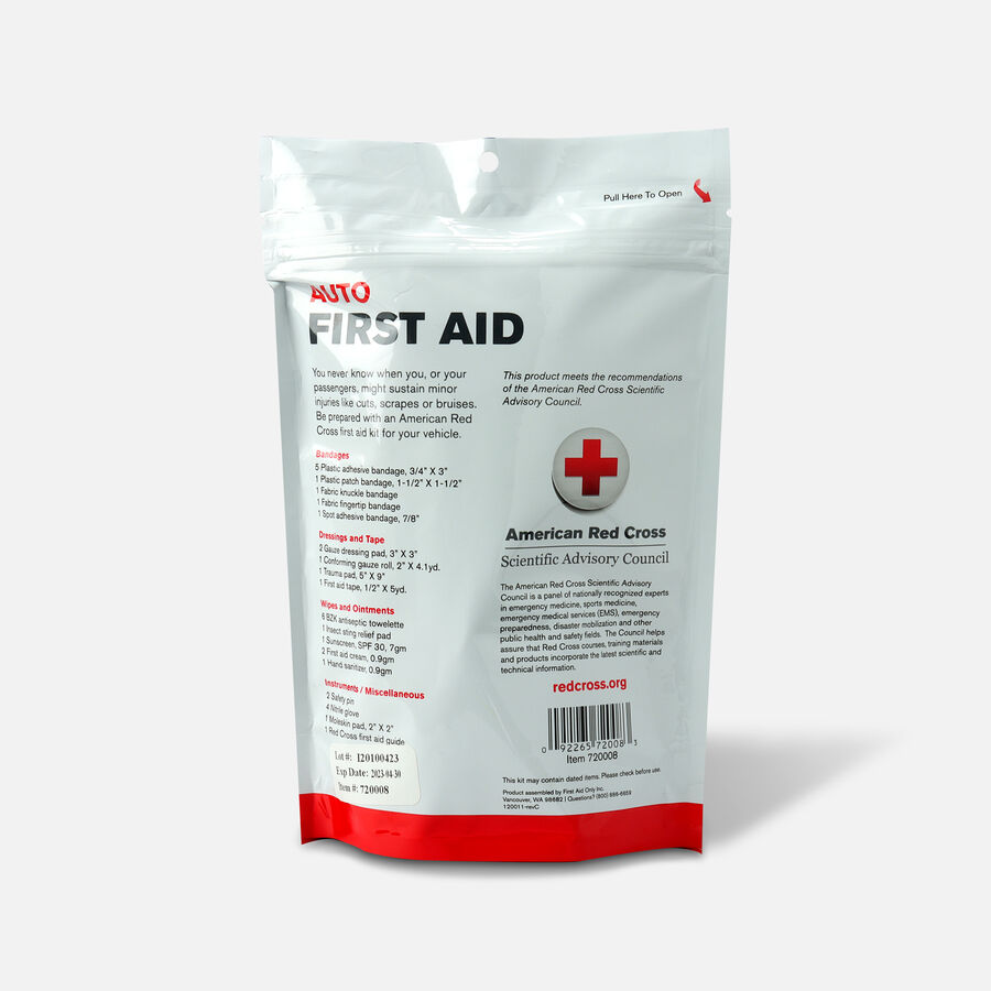 Kit Zip-N-Go Auto First Aid Kit, American Red Cross, , large image number 1