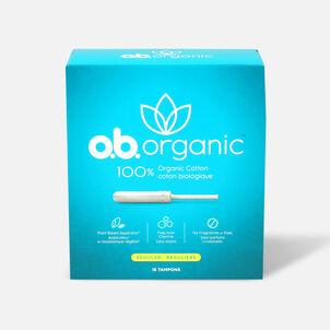 o.b. Organic Regular Tampon with Applicator 18ct