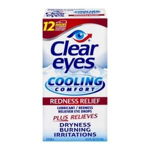 Clear Eyes Cooling Comfort Redness Relief, .5 oz