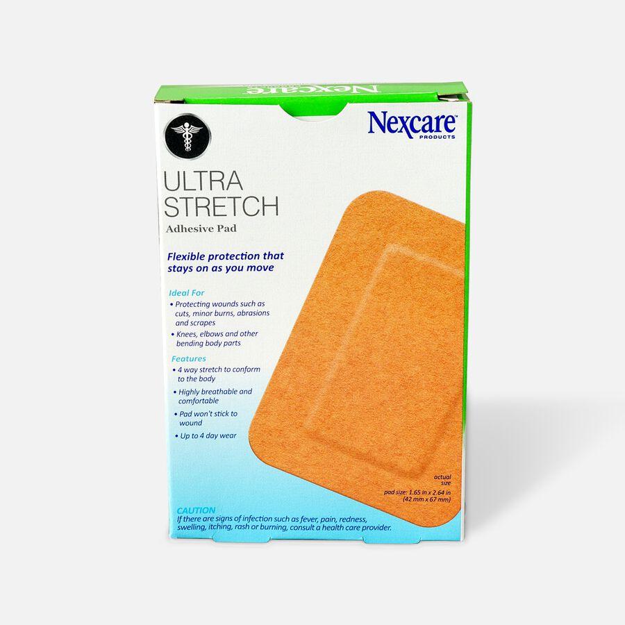 """Nexcare Soft Fabric Adhesive Gauze Pad 3""""x4"""", 4 ea, , large image number 1"""