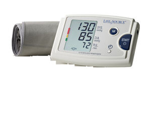 LifeSource UA-787EJ Quick Response Arm BP Monitor with Easy-Fit Cuff