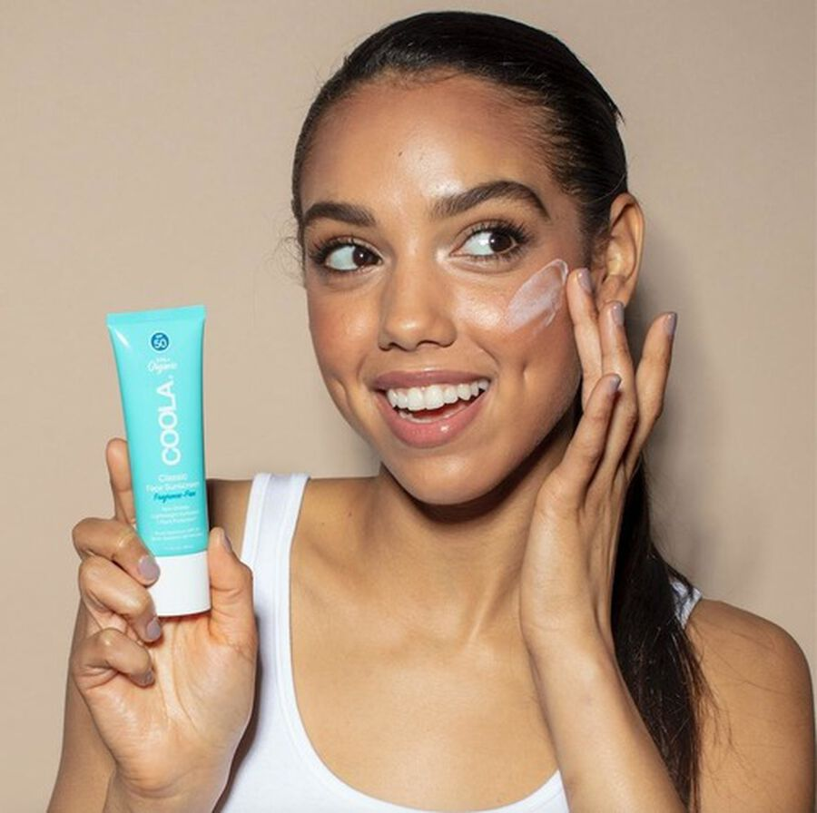 Coola Classic Face Organic Sunscreen Lotion SPF 50, 1.7oz, , large image number 4