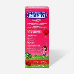 Children's Benadryl Cherry flavored Allergy 4 fl oz