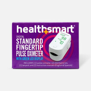 HealthSmart Pulse Oximeter Standard with Green LED Display