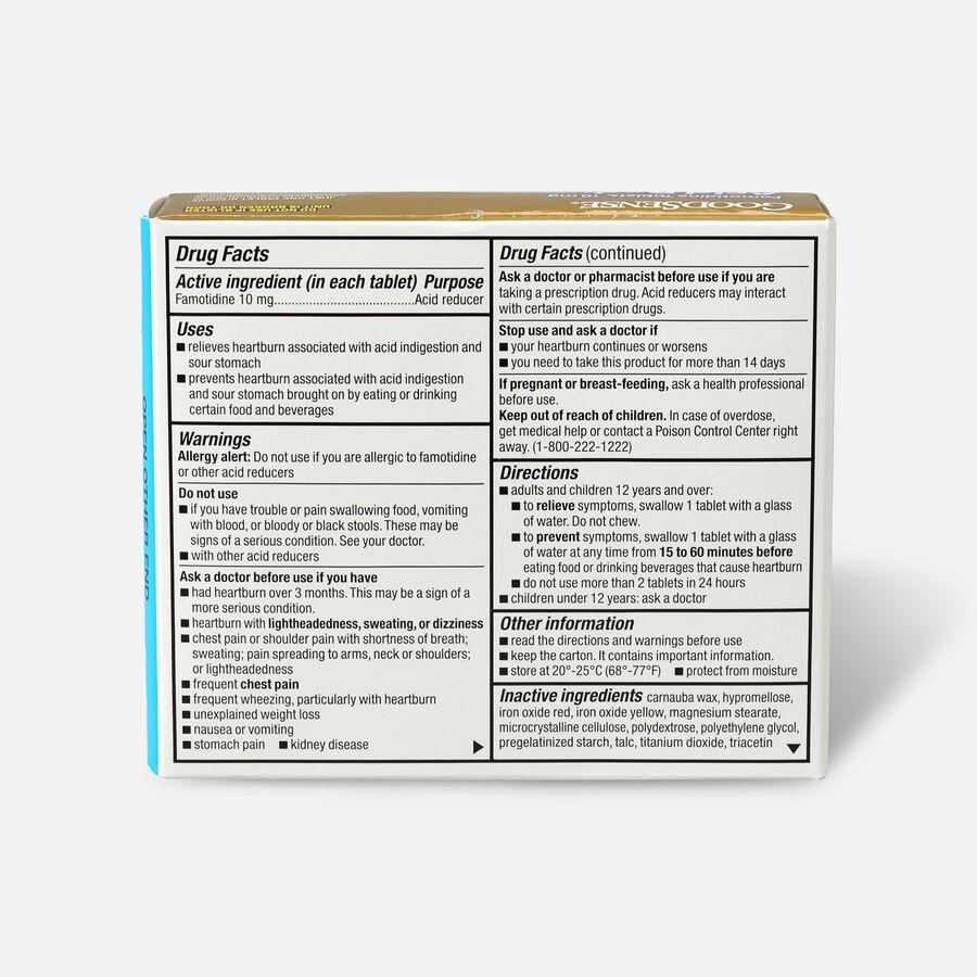 GoodSense® 10mg Famotidine Tablet 30 Count, Original Strength, , large image number 1