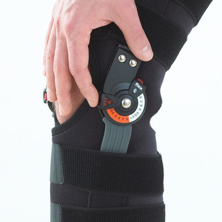 Neo G Adjusta Fit Hinged Open Knee Brace, One Size, , large image number 5