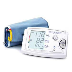 LifeSource UA-789AC Arm Blood Pressure Monitor w/ XL Cuff