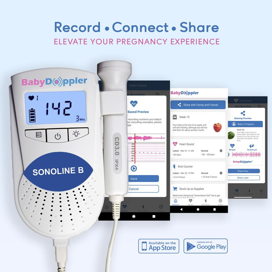 Baby Doppler Sonoline B Plus Water-Resistant Fetal Doppler, , large image number 3